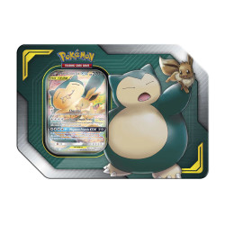 Pokemon - TAG TEAM Tins - Eevee & Snorlax-GX