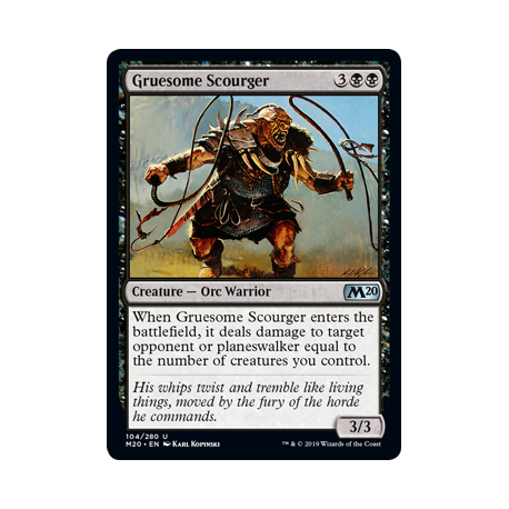Gruesome Scourger - Foil