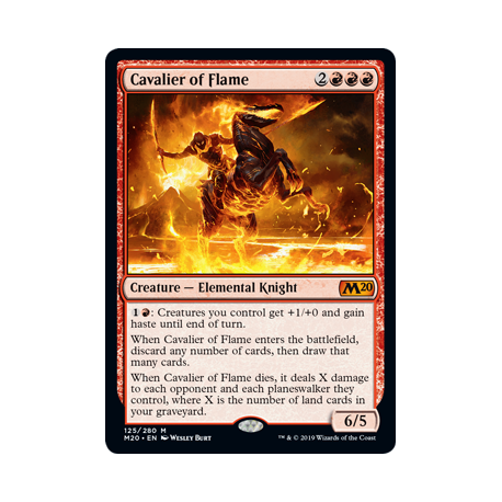 Cavalier of Flame - Foil