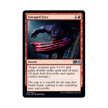 Uncaged Fury - Foil