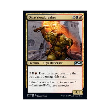 Ogre Siegebreaker - Foil