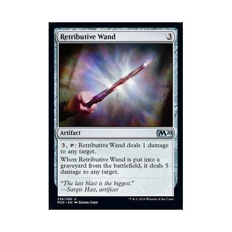 Retributive Wand - Foil