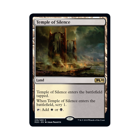 Temple of Silence - Foil