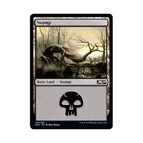 Swamp (Version 1) - Foil