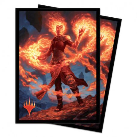 Ultra Pro - Core Set 2020 100 Sleeves - Chandra, Awakened Inferno