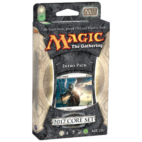 Magic 2012 Core Set - Intro Pack - Sacred Assault (White/Green)
