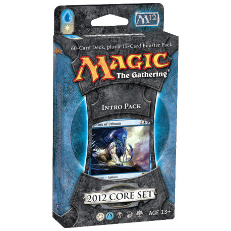 Magic 2012 Core Set - Intro Pack - Mystical Might (Blue/White)