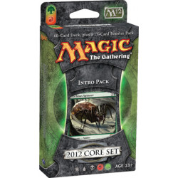 Magic 2012 Core Set - Intro Pack - Entangling Webs (Green/Red)