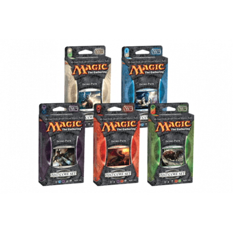 Magic 2012 Core Set - Intro Pack Set (5 Decks)