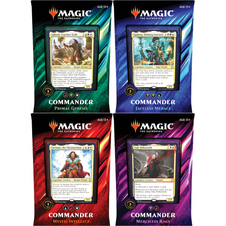 Commander 2019 - Set (4 Decks)
