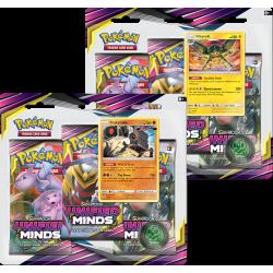Pokemon - SM11 Sintonia Mentale - 3-Pack Blister Bundle (Sceptile + Typhlosion)