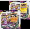 Pokemon - SM11 Harmonie des Esprits - Tripack Bundle (Sceptile + Typhlosion)
