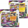 Pokemon - SM11 Unified Minds - 3-Pack Blister Bundle (Sceptile + Typhlosion)