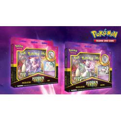 Pokemon - Verborgenes Schicksal - Pin-Kollektionen Set (Mewtu + Mew)