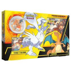 Pokemon - Collection avec figurine - Reshiram et Dracaufeu-GX