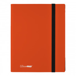 Ultra Pro - Eclipse 9-Pocket PRO-Binder - Pumpkin Orange