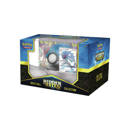 Pokemon - Hidden Fates Poké Ball Collection - Shiny Zoroark-GX