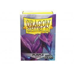 Dragon Shield - Matte Non-Glare 100 Sleeves - Purple 'Amifist'