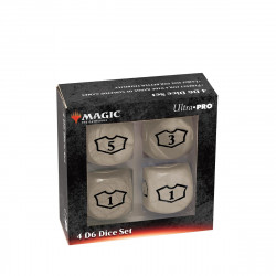 Ultra Pro - Deluxe Loyalty Dice Set - White