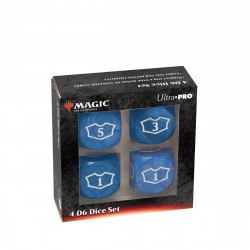 Ultra Pro - Deluxe Loyalty Dice Set - Blue