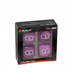 Ultra Pro - Deluxe Loyalty Dice Set - Black