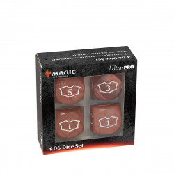 Ultra Pro - Deluxe Loyalty Dice Set - Red