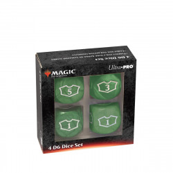 Ultra Pro - Deluxe Loyalty Dice Set - Green