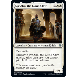 Syr Alin, the Lion's Claw