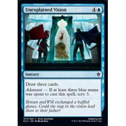 Unexplained Vision