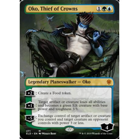 Oko, Thief of Crowns (Borderless)