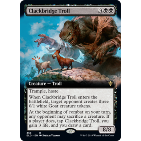 Clackbridge Troll (Extended)