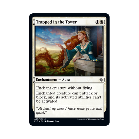 Trapped in the Tower - Foil