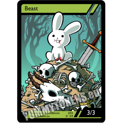 Yummy Tokens - Beast 3/3 (S1 2/9)