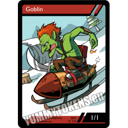 Yummy Tokens - Goblin 1/1 (S1 5/9)