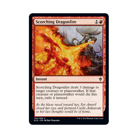 Scorching Dragonfire - Foil