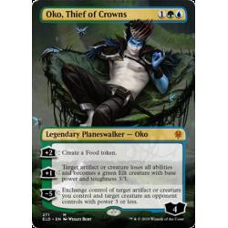 Oko, Thief of Crowns (Borderless) - Foil
