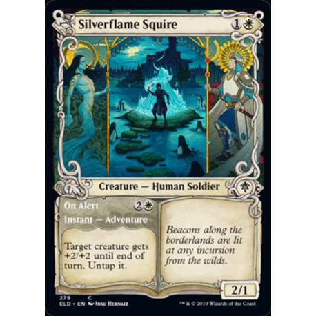Silverflame Squire (Showcase) - Foil