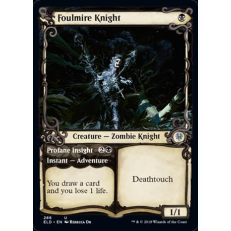 Foulmire Knight (Showcase) - Foil