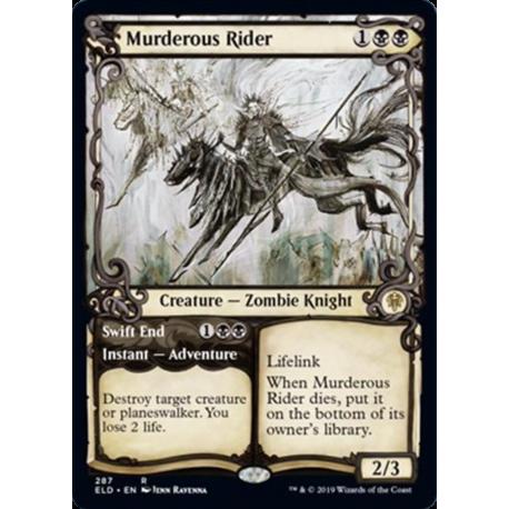 Murderous Rider (Showcase) - Foil