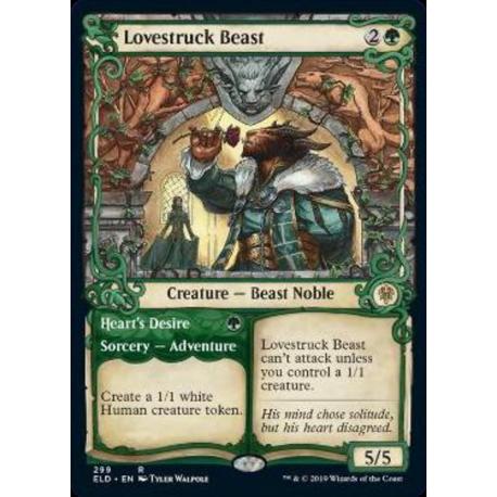 Lovestruck Beast (Showcase) - Foil