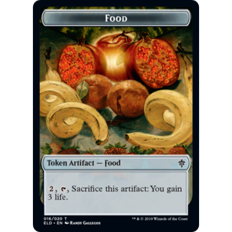 Food Token - Foil