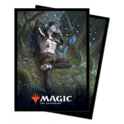 Ultra Pro - Throne of Eldraine 100 Sleeves - Oko, Thief of Crowns