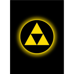 Legion - Absolute Iconic 50 Sleeves - Triforce