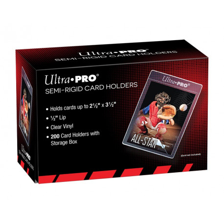 Ultra Pro - Semi-Rigid Lip Sleeves (200x)