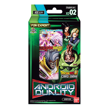 Dragon Ball Super - Expert Deck 2 - Android Duality