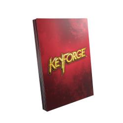 Gamegenic - Keyforge 40 Logo Sleeves - Red
