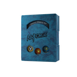 Gamegenic - Keyfoge Deck Book - Blue