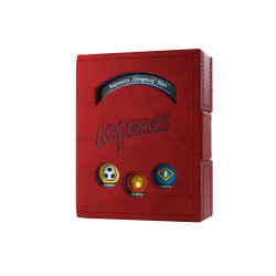Gamegenic - Keyfoge Deck Book - Red