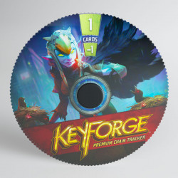 Gamegenic - Keyforge Premium Chain Tracker - Shadows