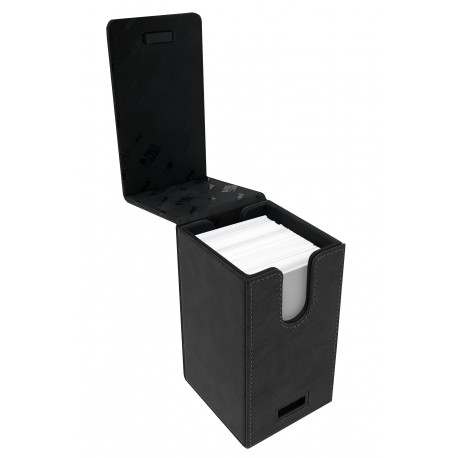 Ultra Pro - Suede Alcove Tower Deck Box - Jet